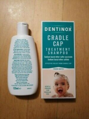 Dentinox Cradle Cap Baby Shampoo 125 ml Suitable From Birth **Free Postage**