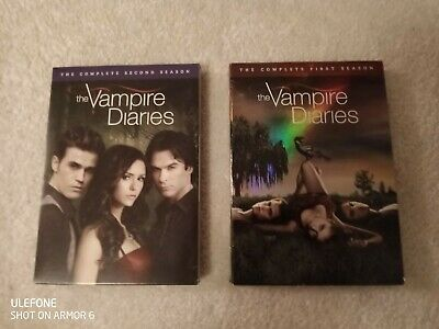 The Vampire Diaries: The Complete First and Second Seasons DVD