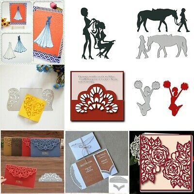 Various Types metal cutting dies Stencil Embossing DIY Album Paper Card Craft EW