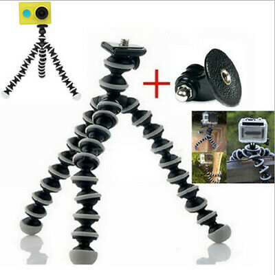 Octopus Flexible Tripod Mount Stand for Gopro hero 3 3+ 4 5 6 Action Phone New
