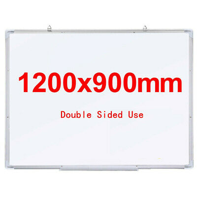 Large Magnetic White Board Whiteboard Drawing Memo Notice Office School 1200x900