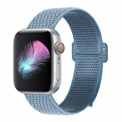 Cinturino per Apple Watch 42MM 44MM Morbido Nylon Sport Loop