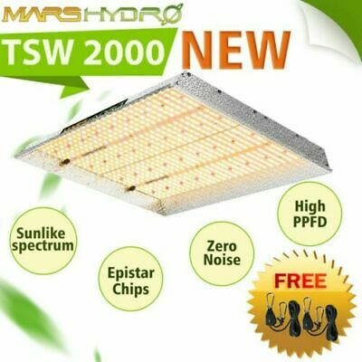 Mars Hydro TS 2000W Led Grow Lights Full Spectrum Veg Bloom for Indoor Plants IR