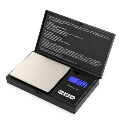 0.01g-1000g Digital Pocket Weighing Mini Scales Gold Kitchen Jewellery Scale