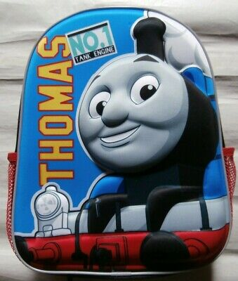Bnwt Thomas The Tank Engine 3D Backpack School Bag Rucksack - Small