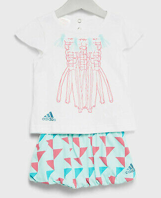 size 3-6 months babies - adidas infants cribs girls set - ce9777