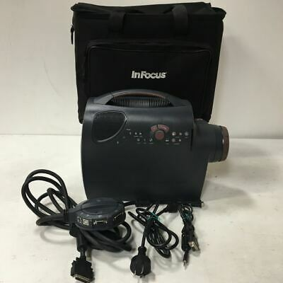 InFocus LP725 Projector LCD Data Projector + Case - Made in USA