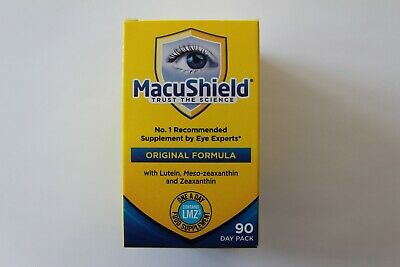 Macushield Original Formula Food Supplement - Contains LMZ3 - 90 Day Pack