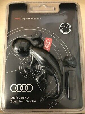 Audi Genuine Black Gecko Air Freshener-Aromatic/Woody scent