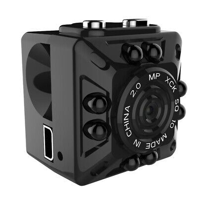 SQ10 Mini Camera Recorder Full HD 1080P  Micro DV Motion Sensor USB Camera Y1X7