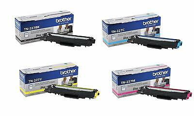 NEW GENUINE Brother TN227BK/C/M/Y High Yield Toner 4 PACK FOR MFC-L3710