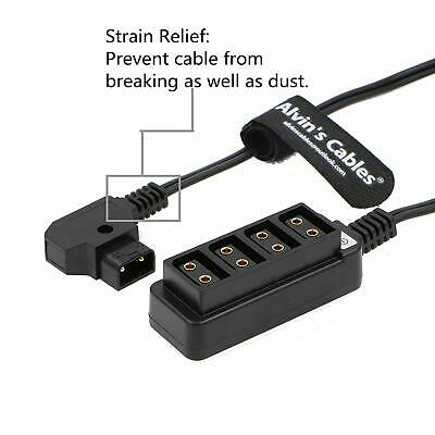 D-tap Splitter Power Cable P-tap to 4 Port dtap Female for ARRI Cameras TILTA