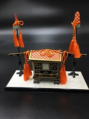 Hina Doll CARRIAGE Accessories Japanese Vtg Dollhouse Furniture