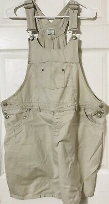 c26a96f171a15 PLANET MOTHERHOOD MEDIUM Blue Denim Bib Overall Shorts Size Medium ...