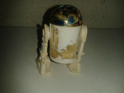 R2 D2 Gmgfi 1977 Kenner Used Clicking Turning Head Star Wars The First Vintage
