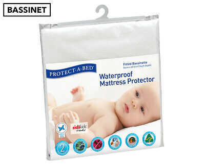 Protect-A-Bed Waterproof Fitted Bassinette Mattress Protector