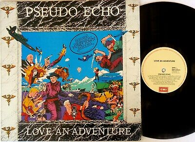 Pseudo Echo ‎– Love An Adventure LP 1985 EMI Original Australia ‎– EMX.430033