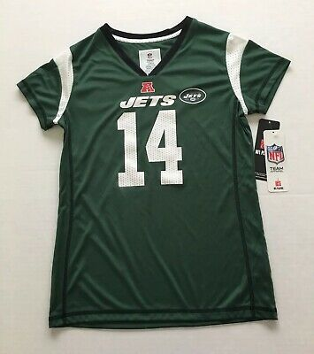 Nice NEW YORK JETS Sam Darnold #14 Licensed Jersey SS Child Girls Size L  free shipping