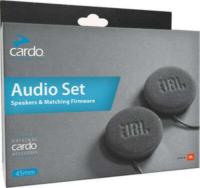 Cardo 45mm JBL Audio Set Helm Lautsprecher 3,5mm Stecker 42mm Basis SPAU0010