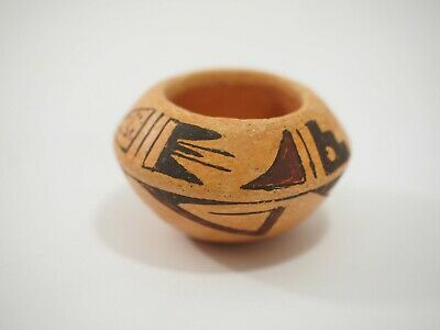 Rachel Adams Miniature Hopi Pottery Bowl