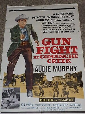 Pistolet Fight At Comanchee Creek 1963 One Film Poster
