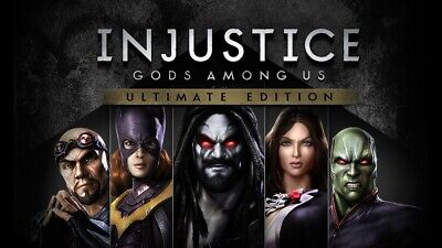 Injustice: Gods Among Us Ultimate Edition (Global Steam PC Key)