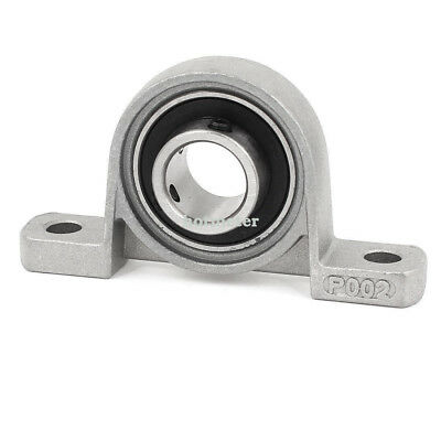H● KP002 Self Align 15mm Bore Dia Ball Bearing Pillow Block Insert 80x18x44m.