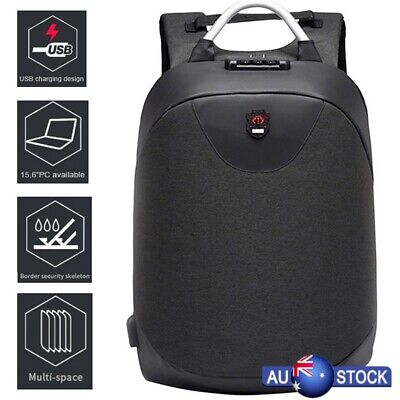 Outdoor Anti-Theft Backpack USB Port Charging Large-capacity Travel Backpack