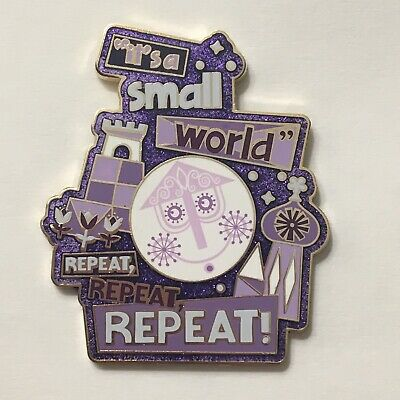 Disney Pin Its Small World Repeat, Repeat, Repeat! Disney Parks Collection