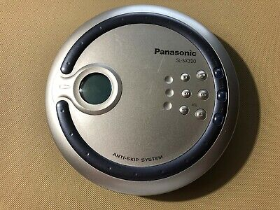 Panasonic SL-SX320 Discman Portable Handheld CD Player Anti Skip System