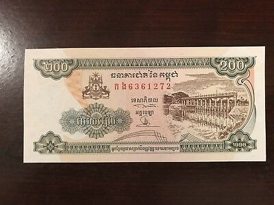 Coins & Paper Money Buy Cheap 1973 Cambodia 1000 Riels Nd Issue Crisp Uncirculated Bank Note Pick-17!!