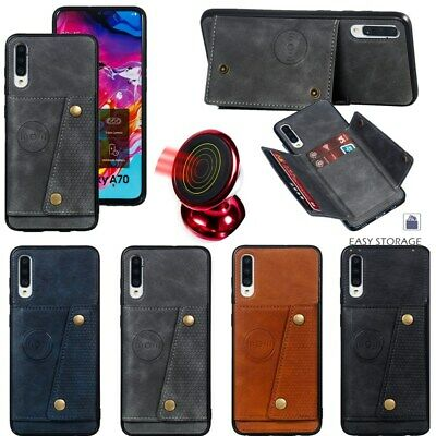 Leather Flip Wallet Card Holder Case Cover For Samsung Galaxy S10 E S10 Plus S10