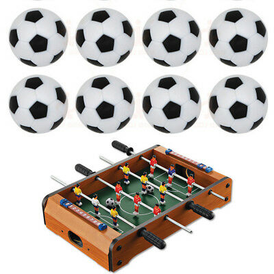 10pcs 32mm Plastic Soccer Table Foosball Ball Football Fussball   GN