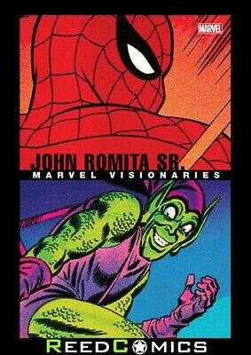 MARVEL VISIONARIES JOHN ROMITA SR GRAPHIC NOVEL (336 Pages) New Paperback