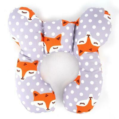 Skin-friendly Baby Head Neck Support Travel Safety Pillow Stroller Head Support