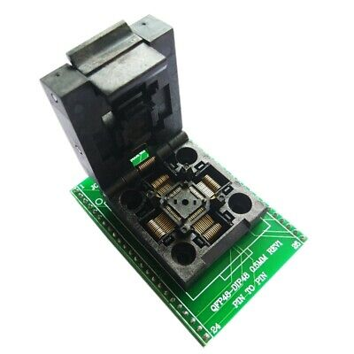 Tqfp48 Qfp48 To Dip48 0.5Mm Pitch Lqfp48 To Dip48 Programming Adapter Mcu T E8Q3