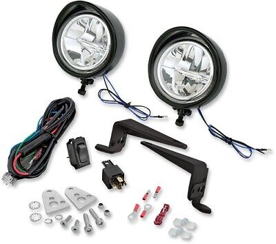 Show Chrome Cree LED Fahrlicht Kit Victory Cross Country Tour 10-17 Schwarz
