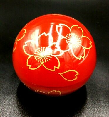 Japanese Lacquer Tea CADDY Container / Tea Container