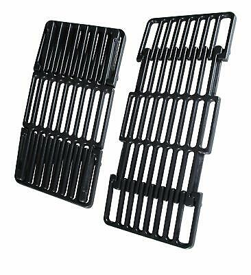 "Char-Broil Grill Parts Porcelain Cast Iron Grill Grate Adjustable 14"" to 19.5"""