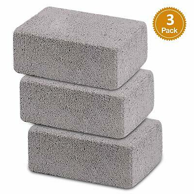 BBQ Grill Cleaner - 3 Pack Grill Cleaning Brick Pumice Stone for Barbecue Party