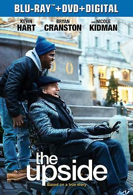The Upside NEW BLU-RAY + DVD + DIG Nicole Kidman, Kevin Hart, Julianna Margulies