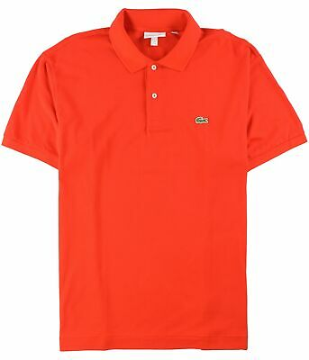 Lacoste Mens SS Rugby Polo Shirt orange 3XL