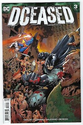 Dceased # 3 Of 6 Cover A Deceased Dc Comic - Nm