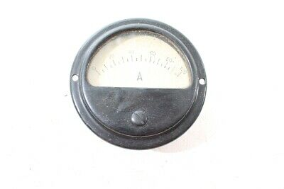 Old Gauge Ammeter Bakelite Panel Meter Vintage Old