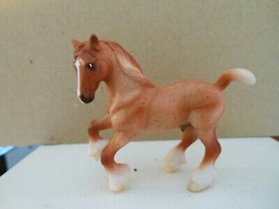 Breyer #6022 Stablemate Horse Red Roan G2 Clydesdale Mold Gentle Giants