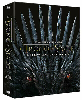 IL TRONO DI SPADE 8 STAGIONE FINALE (3 DVD Digipack) GAME OF THRONES 8
