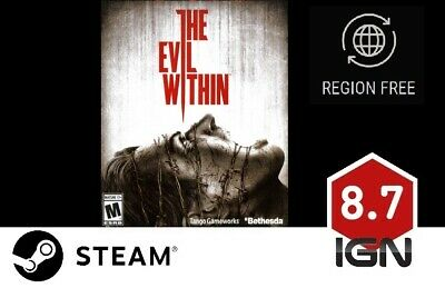 The Evil Within + Fighting Chance DLC [PC] Steam Download Key