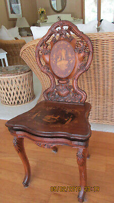 Antique  Musical Chair