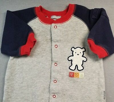 Carter's 3 Month Baby Boy Gray Love Me Bear Sweatshirt Outfit