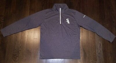 save off f8215 610dd CHICAGO WHITE SOX Pullover 1/4 Zip Adult Xl Vintage Logo Sga ...